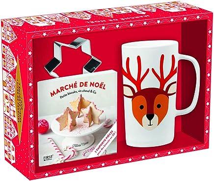 Marché de Noël : Avec 1 mug, 2 emporte-pièce et 1 livre de recettes