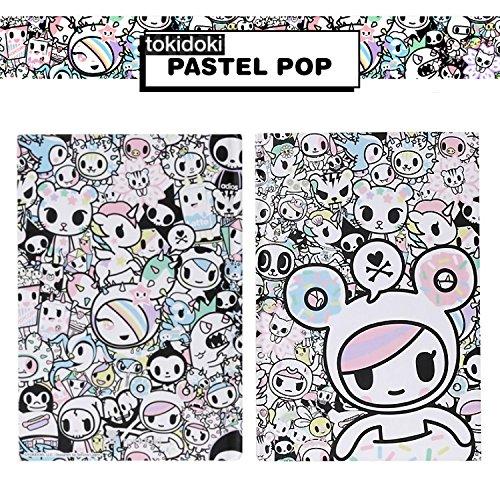 Tokidoki Pastel Pop Hard Cover Lined Notebook School Supply Stationery : Pastel Pop