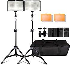 """LED Video Licht, 160 Stück Dimmable LED Kamera Licht Panel und 79"""" Einstellbarer.."""