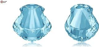 SWAROVSKI Crystals Elements Fancy Stones 4789 MM 14,0 F - Aquamarine F (202)