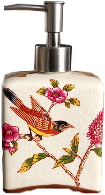 XIAOSAKU Bathroom Soap Beauty products Dispenser Ceramic online shop Bottle Sanitizer Hand F