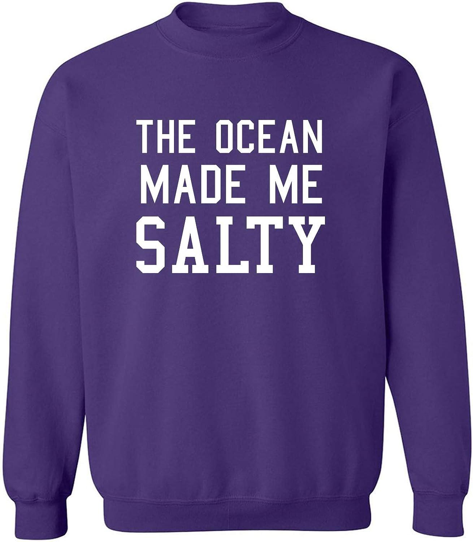The Ocean Made Me Salty Crewneck Sweatshirt