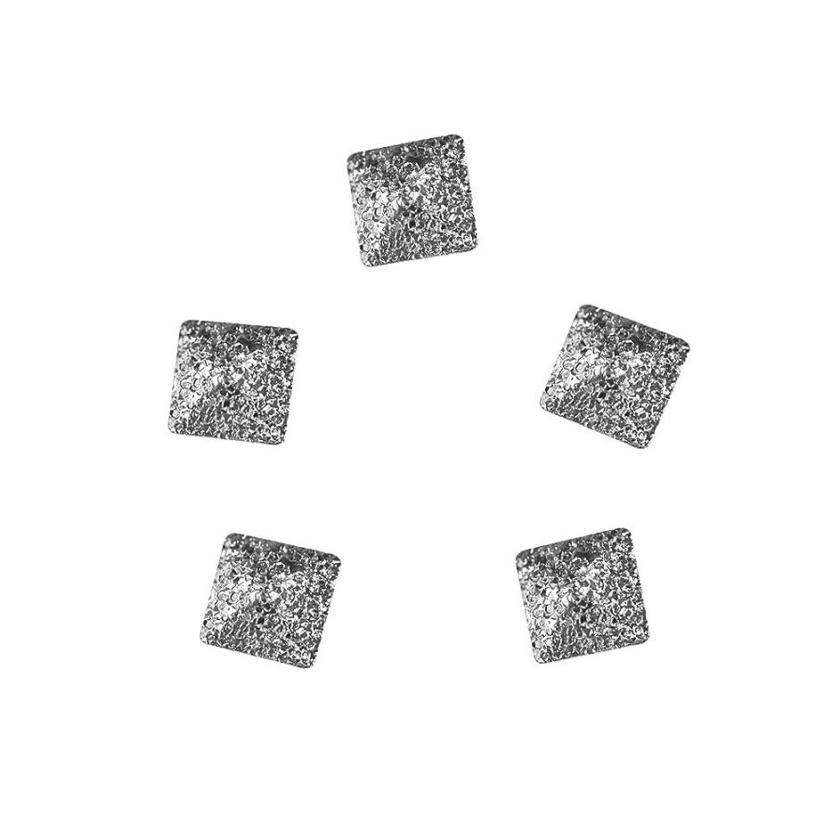 ネックレット借りる通常Bonnail ラフスタッズシルバースクエア 2mm