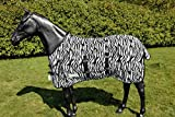 WALDHAUSEN Fliegendecke Zebra, 125 cm, schwarz/weiß, 125 cm