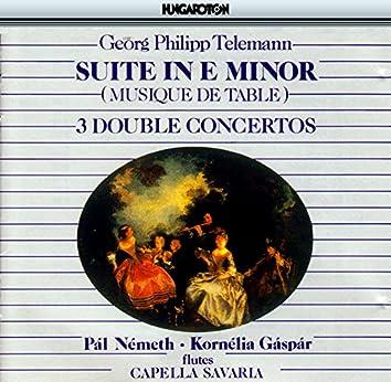 Telemann: Musique De Table, Part I: Overture Suite in E Minor / Concertos for 2 Flutes