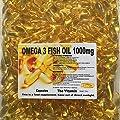The Vitamin OMEGA-3 Fish Oil 1000mg 365 Capsules - 1 per day FREE POSTAGE (L)