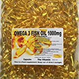 The Vitamin OMEGA-3 Fish Oil 1000mg 365 Capsules - 1 per day FREE POSTAGE (L)