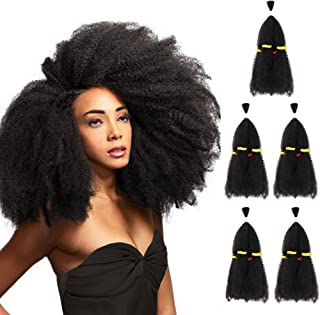 5 Bundles Afro Kinkys Curly Hair Extensions (13
