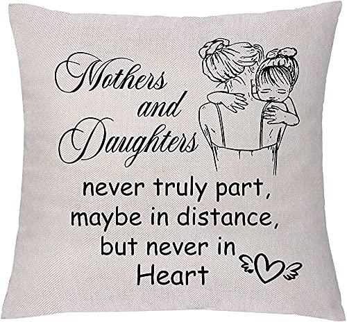 ADIS Funda de cojín para el sofá, para el día de la madre, graduación, distancia de regalo para 2