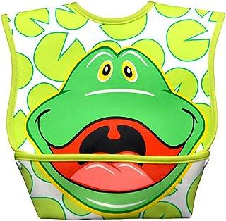 Dex Baby Dura Bib Big Mouth (Frog)