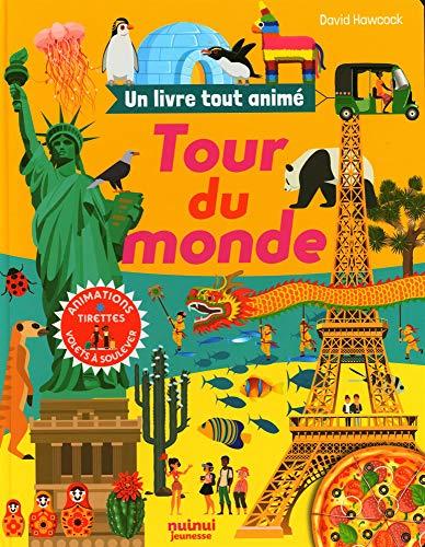 Tour du monde : Animations, tirettes, volets à soulever