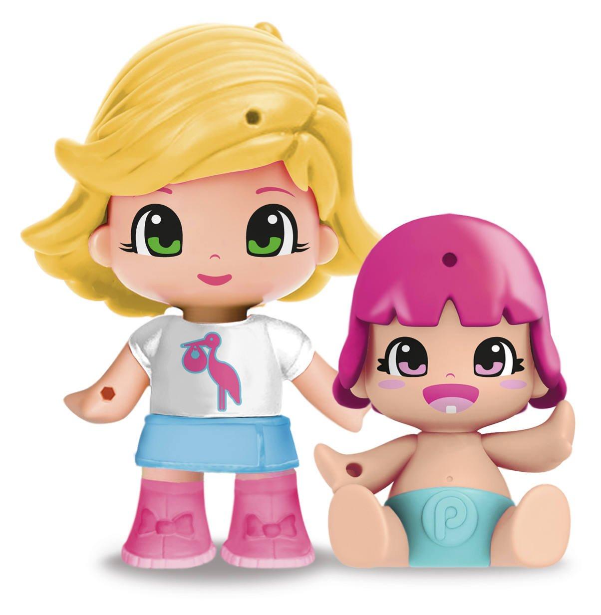 Pinypon - Figurita con bebé sorpresa, pack H (Famosa 700014088) , color/modelo surtido: Amazon.es: Juguetes y juegos