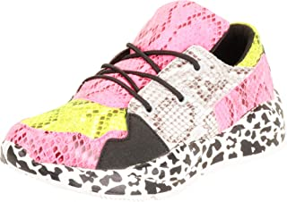 Cambridge Select Women's Low Top Retro 90s Ugly Dad Colorblock Lace-Up Chunky Platform Fashion Sneaker