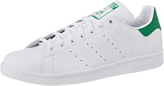adidas Stan Smith M, Scarpe da Ginnastica Uomo, Footwear White/Core White/Green, 41 1/3 EU