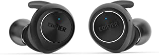 Edifier TWS3 Wireless Earbud Headphones - Charging Case, Bluetooth v4.2, IPX4 Splash & Sweatproof - Black