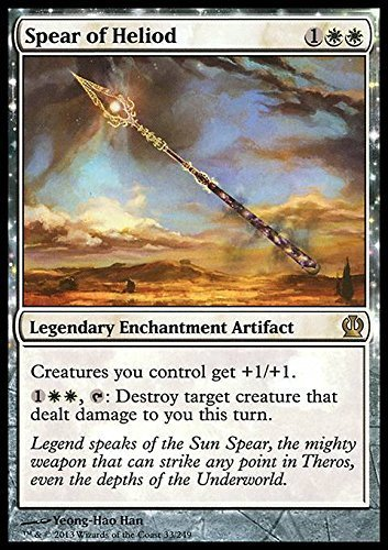 Magic The Gathering - Spear of Heliod (33/249) - Theros