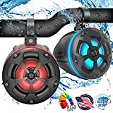 """Best Utv Speakers - 2-Way Dual Waterproof Off-Road Speakers - 4"""" 800W Review"""