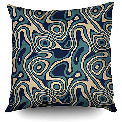 Fodere per cuscini,fodera per cuscino quadrata da 50 x 50 cm (20 pollici),fodere per cuscini turchesi blu navy,decorazioni per divani per la casa luminose,2 pezzi