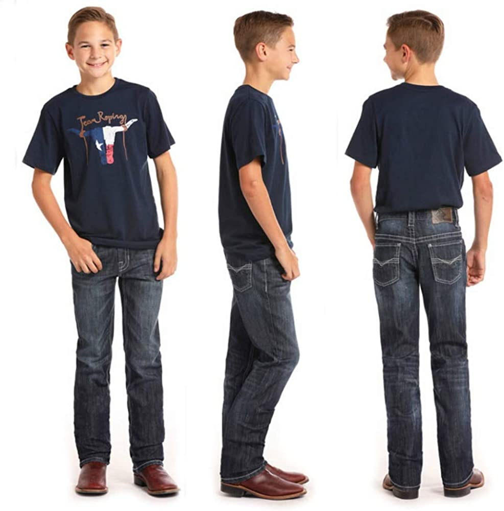 Rock Ranking TOP17 and Roll Boys Reflex Revolver Selling selling Jeans Wash 4 Vintage Dark