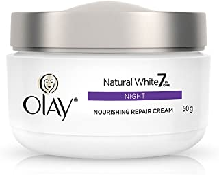 Olay Natural White All in One Fairness Night Skin Cream, 50 gm