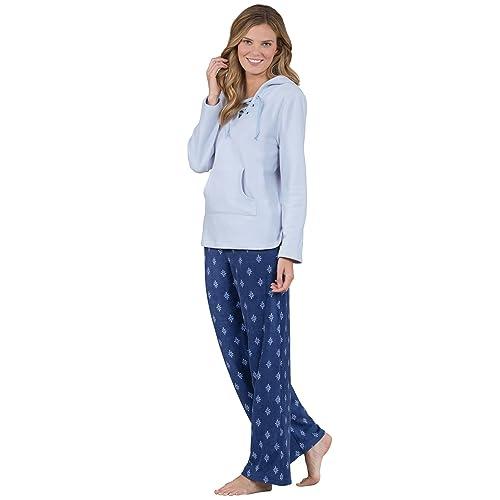 Addison Meadow Fleece Pajamas Women - Womens Fleece Pajamas with Hood 7dfe7f496