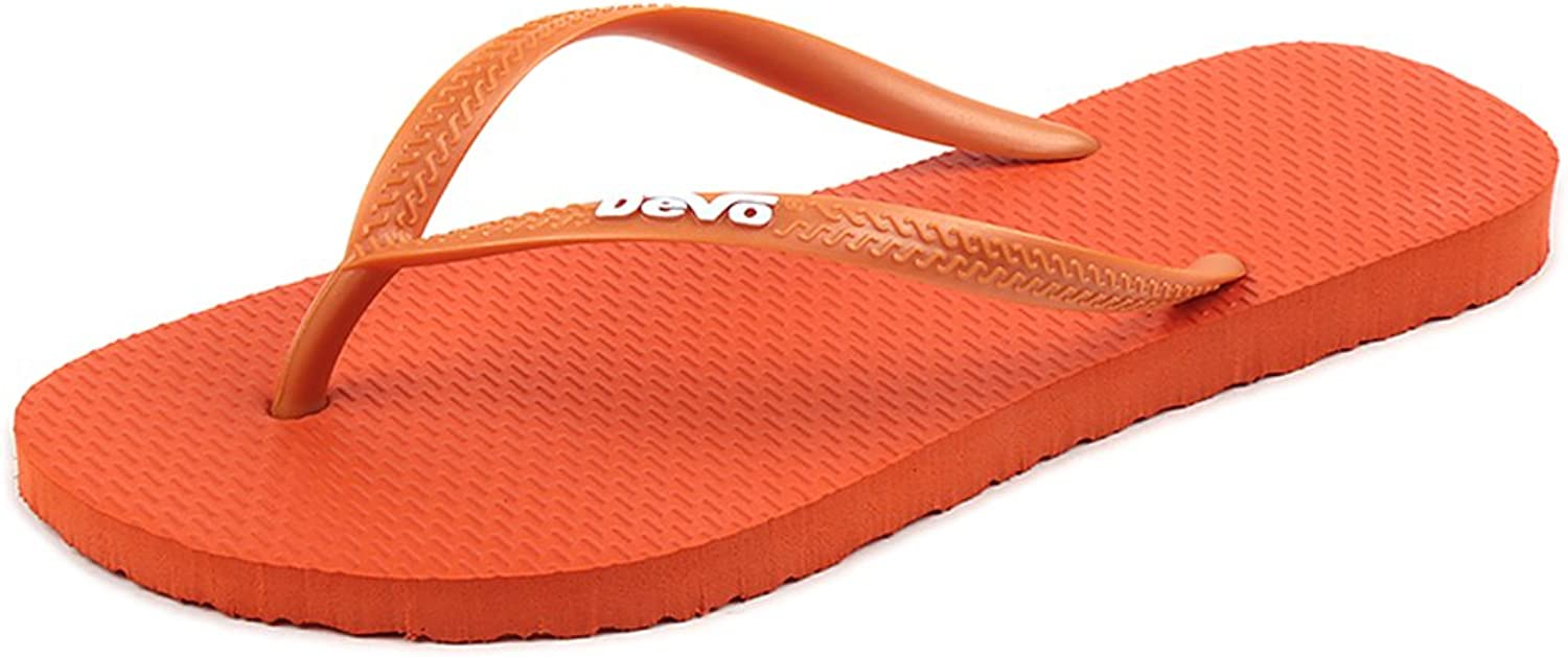 UBCA-DEVO Womens Foam Flip Flops Light Weight Comfortable Thong EVA Sandals