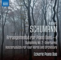 Schumann: Arrangements for Piano Duet Vol. 4