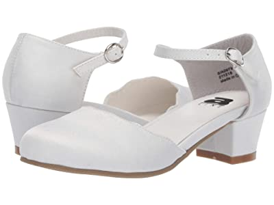 Amiana 6-A0979 (Toddler/Little Kid/Big Kid/Adult) (White Satin) Girl