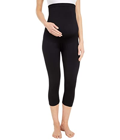 Belly Bandit Bump Support Capri Leggings (Black) Women