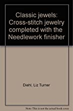 Classic jewels: Cross-stitch jewelry completed with the