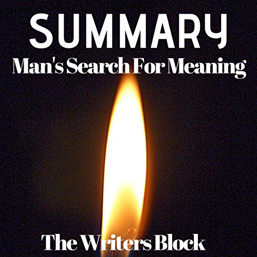 Summary: Man's Search for Meaning audiobook cover art