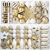 Top 10 White and Gold Christmas Ornaments
