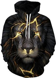 Pandolah Athletic Printed Sweatshirts Lightning