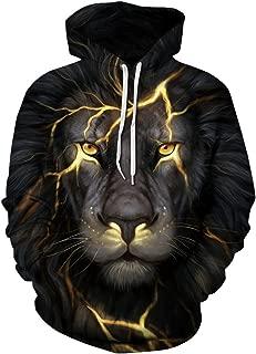 electric lion hoodie