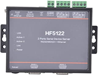 Safe Multifunction RS422 to Ethernet, Practical Widely Use Serial Server, Stable DES3 for AES-128Bit