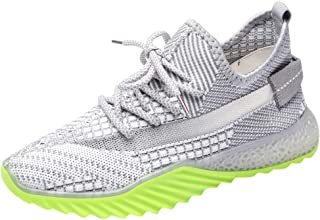 LENXH Casual Sneakers Breathable Women's Shoes Wild Running Shoes Fashion Shoes with Sneakers