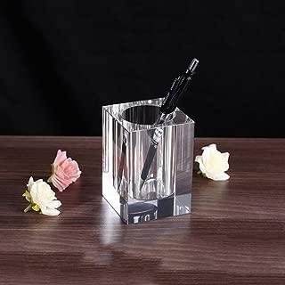 glass pen holder for desk