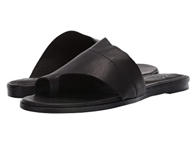 Eileen Fisher Ty (Black Washed Leather) Women