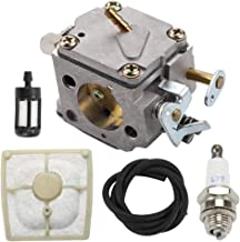 Mannial Carburetor Carb fit 1110-120-0609 STIHL 041 041 Farm Boss Gas Chainsaw with Air Filter Replaces 1110 120 1601