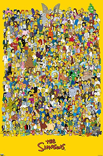 Trends International Simpsons-Universe 21 Wall Poster, 22.375' x 34', Unframed Version