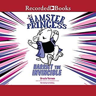 Hamster Princess audiobook cover art