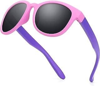 Kids Sunglasses Polarized TPEE Rubber Flexible Frame 100%...