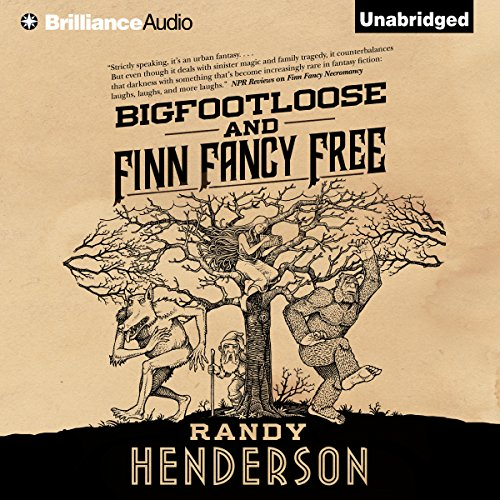 Bigfootloose and Finn Fancy Free audiobook cover art