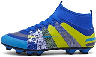 High help boys students sports outdoor competition training shoes football shoes.
