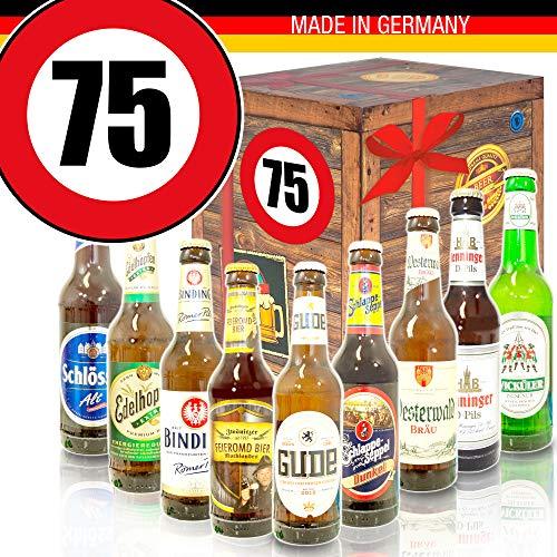 Ideen zum 75. Geburtstag für Männer/Deutsches Bier/Bier Geschenkset