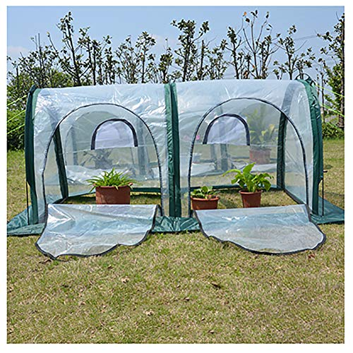 Pop Up Greenhouse with Storage Bag, Mini Portable Indoor and Outdoor Plants and Flowers Grow House Extra Wind Ropes and Hooks,200cm/78.7 inch