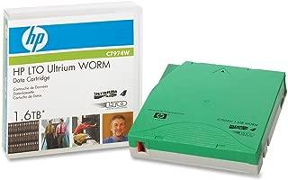 HP C7974WL LTO Ultrium 4 WORM Custom Labeled Tape Cartridge. LTO4 WORM CUST LABEL 20 TAPES TAPMED. LTO Ultrium LTO-4 - 800GB (Native) / 1.6TB (Compressed) - 20 Pack
