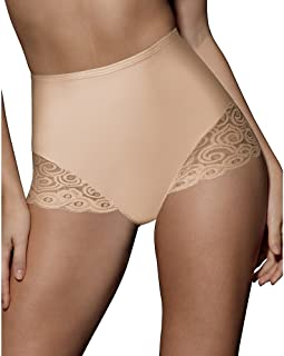Bali Women's Shapewear Brief with Lace Firm Control 2-Pack