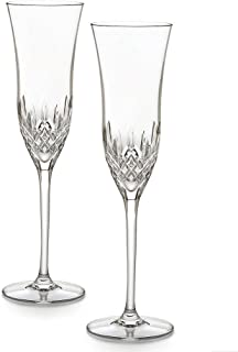 Waterford Crystal Lismore Essence Champagne Flute, Set of 2