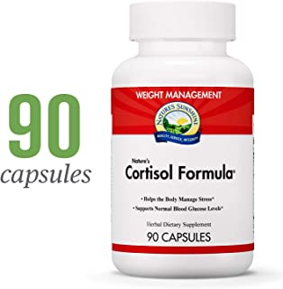 Nature's Sunshine Cortisol Formula, 90 Capsules   Adrenal Support Supplements for Men and Women to Help The Body Manage Stress and Maintain Healthy Cortisol Levels